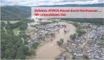 Wir unterstützen von Hochwasser Betroffene